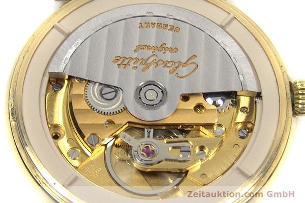 Used luxury watch Glashütte * gold-plated automatic Kal. GUB 10-30  | 153616 10