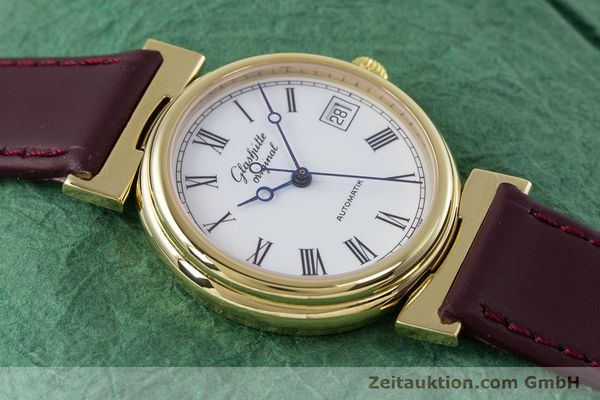 Used luxury watch Glashütte * gold-plated automatic Kal. GUB 10-30  | 153616 13
