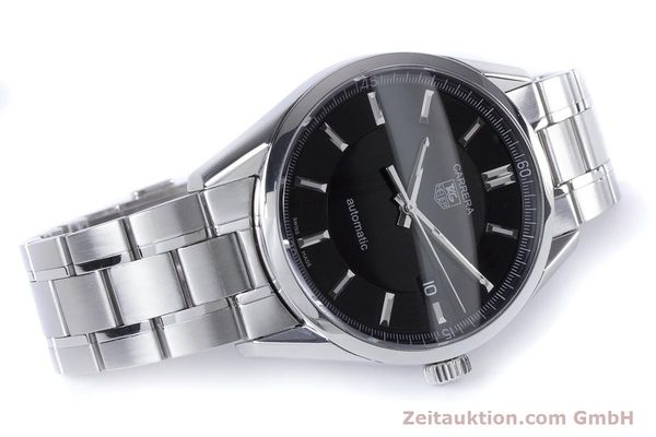 Used luxury watch Tag Heuer Carrera steel automatic Kal. 5 ETA 2824-2 Ref. WV211B1  | 153621 03