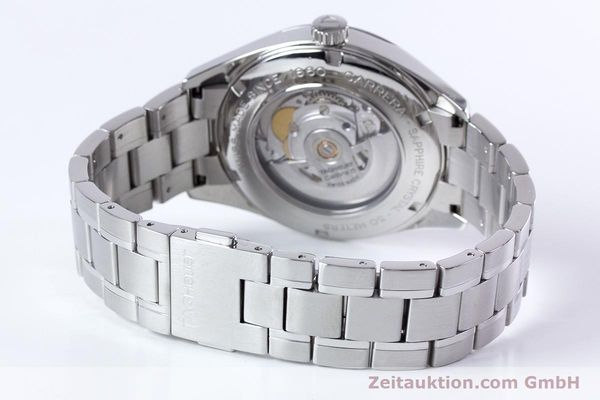 Used luxury watch Tag Heuer Carrera steel automatic Kal. 5 ETA 2824-2 Ref. WV211B1  | 153621 11
