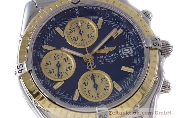 Used luxury watch Breitling Chronomat chronograph steel / gold automatic Kal. B13 ETA 7750 Ref. D13050.1  | 153624 02