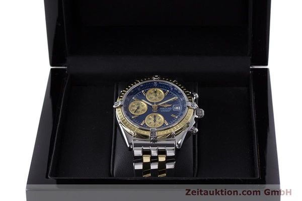 Used luxury watch Breitling Chronomat chronograph steel / gold automatic Kal. B13 ETA 7750 Ref. D13050.1  | 153624 07