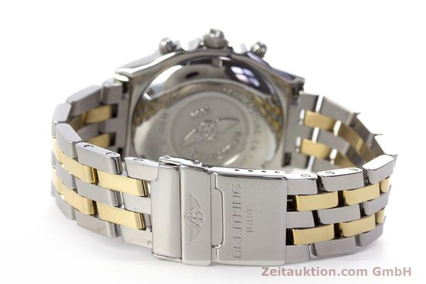 Used luxury watch Breitling Chronomat chronograph steel / gold automatic Kal. B13 ETA 7750 Ref. D13050.1  | 153624 11
