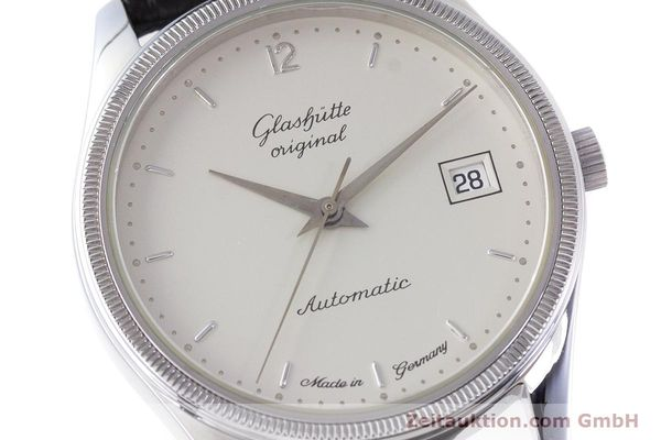 Used luxury watch Glashütte Senator steel automatic Kal. GUB 10-30  | 153625 02