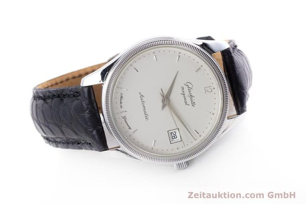 Used luxury watch Glashütte Senator steel automatic Kal. GUB 10-30  | 153625 03
