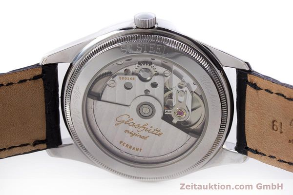 Used luxury watch Glashütte Senator steel automatic Kal. GUB 10-30  | 153625 09