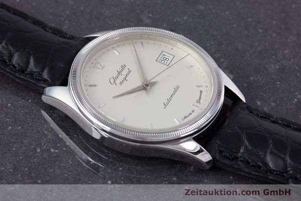 Used luxury watch Glashütte Senator steel automatic Kal. GUB 10-30  | 153625 13