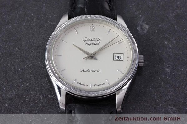 Used luxury watch Glashütte Senator steel automatic Kal. GUB 10-30  | 153625 14