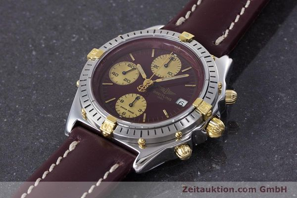Used luxury watch Breitling Chronomat chronograph steel / gold automatic Kal. Valj.  7750 Ref. B13048  | 153627 01