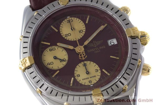 Used luxury watch Breitling Chronomat chronograph steel / gold automatic Kal. Valj.  7750 Ref. B13048  | 153627 02