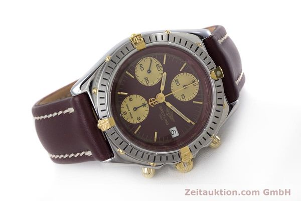 Used luxury watch Breitling Chronomat chronograph steel / gold automatic Kal. Valj.  7750 Ref. B13048  | 153627 03