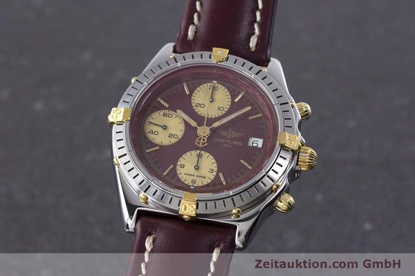 Used luxury watch Breitling Chronomat chronograph steel / gold automatic Kal. Valj.  7750 Ref. B13048  | 153627 04