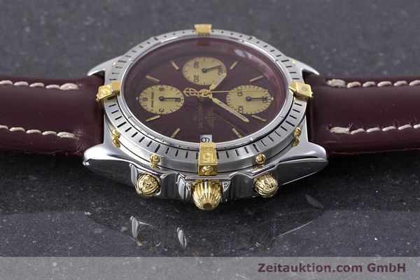 Used luxury watch Breitling Chronomat chronograph steel / gold automatic Kal. Valj.  7750 Ref. B13048  | 153627 05