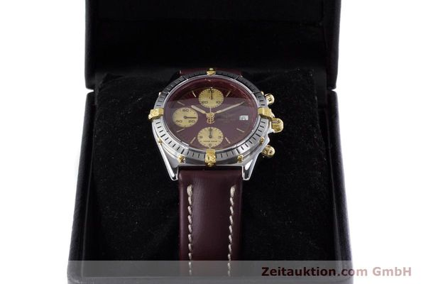 Used luxury watch Breitling Chronomat chronograph steel / gold automatic Kal. Valj.  7750 Ref. B13048  | 153627 07