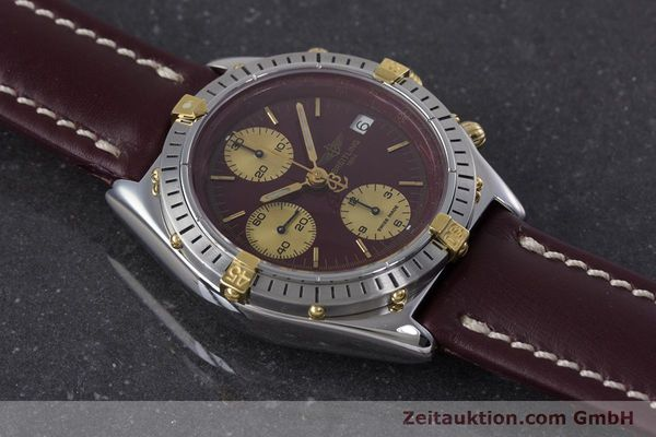 Used luxury watch Breitling Chronomat chronograph steel / gold automatic Kal. Valj.  7750 Ref. B13048  | 153627 15