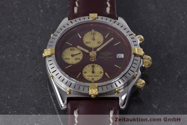 Used luxury watch Breitling Chronomat chronograph steel / gold automatic Kal. Valj.  7750 Ref. B13048  | 153627 16