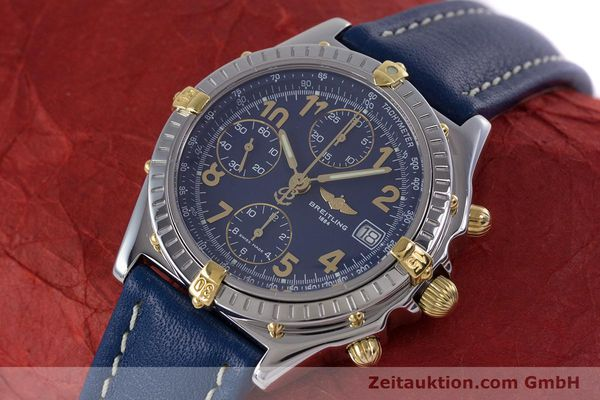 Used luxury watch Breitling Chronomat chronograph steel / gold automatic Kal. B13 ETA 7750 Ref. B13050.1  | 153634 01