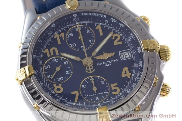 Used luxury watch Breitling Chronomat chronograph steel / gold automatic Kal. B13 ETA 7750 Ref. B13050.1  | 153634 02