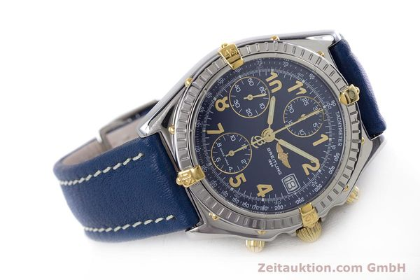 Used luxury watch Breitling Chronomat chronograph steel / gold automatic Kal. B13 ETA 7750 Ref. B13050.1  | 153634 03