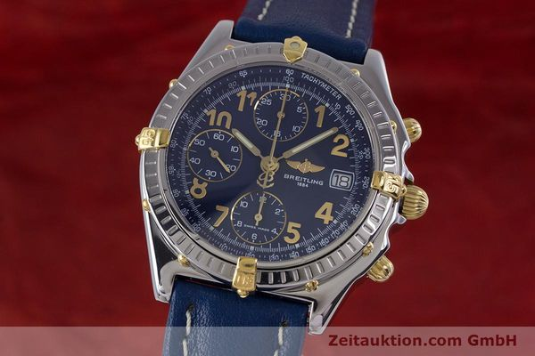 Used luxury watch Breitling Chronomat chronograph steel / gold automatic Kal. B13 ETA 7750 Ref. B13050.1  | 153634 04