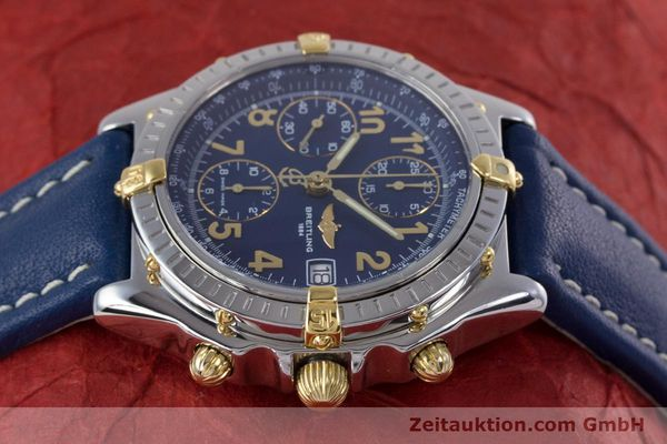 Used luxury watch Breitling Chronomat chronograph steel / gold automatic Kal. B13 ETA 7750 Ref. B13050.1  | 153634 05