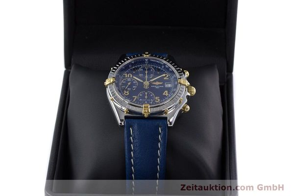 Used luxury watch Breitling Chronomat chronograph steel / gold automatic Kal. B13 ETA 7750 Ref. B13050.1  | 153634 07
