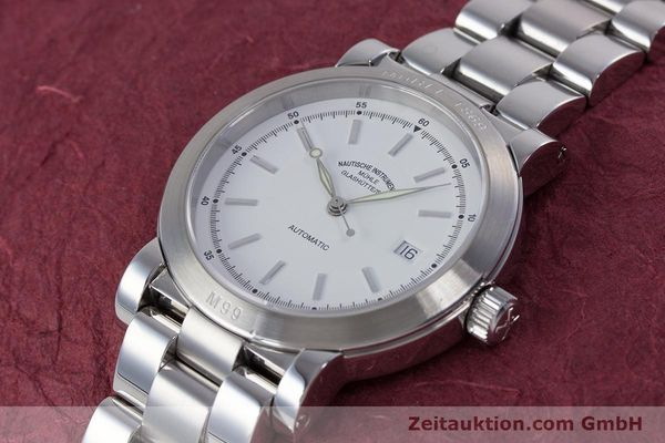 Used luxury watch Mühle M99 steel automatic Kal. ETA 2824-2 Ref. M1-99-40  | 153638 01