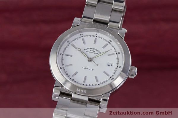 Used luxury watch Mühle M99 steel automatic Kal. ETA 2824-2 Ref. M1-99-40  | 153638 04