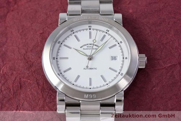 Used luxury watch Mühle M99 steel automatic Kal. ETA 2824-2 Ref. M1-99-40  | 153638 16