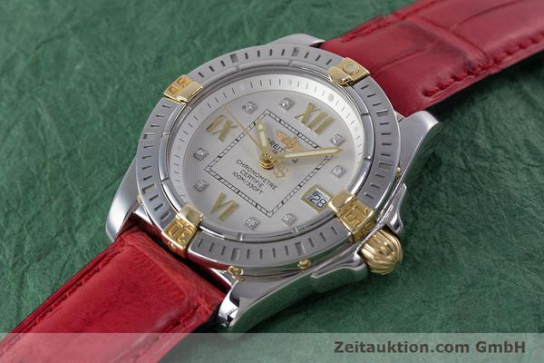 Used luxury watch Breitling Cockpit steel / gold quartz Kal. B71 ETA 956652 Ref. B71356  | 153640 01