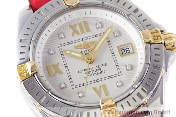 Used luxury watch Breitling Cockpit steel / gold quartz Kal. B71 ETA 956652 Ref. B71356  | 153640 02