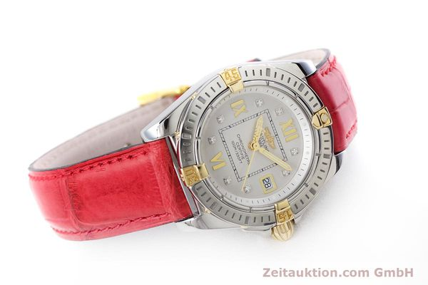 Used luxury watch Breitling Cockpit steel / gold quartz Kal. B71 ETA 956652 Ref. B71356  | 153640 03