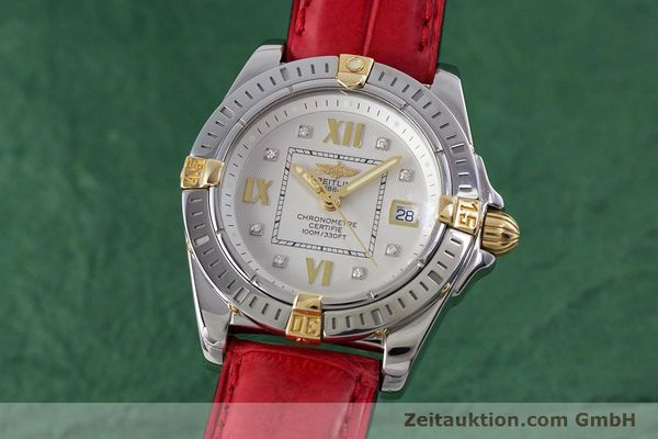 Used luxury watch Breitling Cockpit steel / gold quartz Kal. B71 ETA 956652 Ref. B71356  | 153640 04