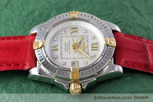 Used luxury watch Breitling Cockpit steel / gold quartz Kal. B71 ETA 956652 Ref. B71356  | 153640 05