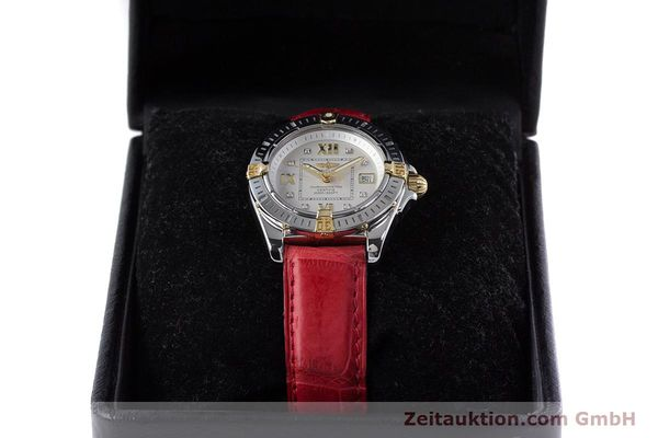 Used luxury watch Breitling Cockpit steel / gold quartz Kal. B71 ETA 956652 Ref. B71356  | 153640 07