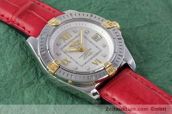 Used luxury watch Breitling Cockpit steel / gold quartz Kal. B71 ETA 956652 Ref. B71356  | 153640 13
