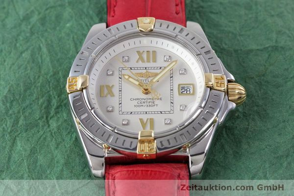 Used luxury watch Breitling Cockpit steel / gold quartz Kal. B71 ETA 956652 Ref. B71356  | 153640 14