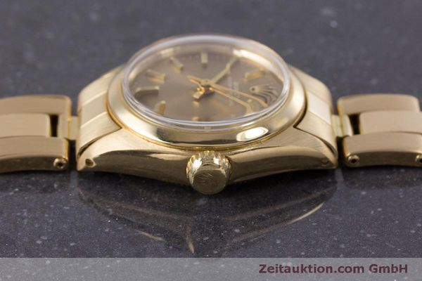 Used luxury watch Rolex Oyster Perpetual 18 ct gold automatic Kal. 2030 Ref. 6719 VINTAGE  | 153642 05