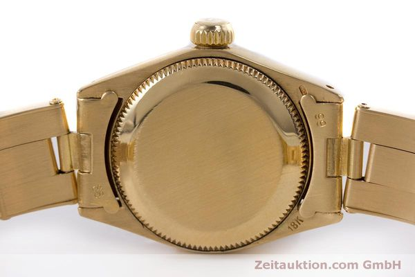 Used luxury watch Rolex Oyster Perpetual 18 ct gold automatic Kal. 2030 Ref. 6719 VINTAGE  | 153642 08