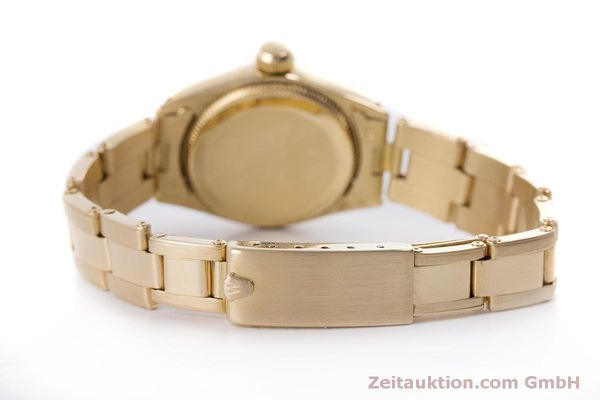 Used luxury watch Rolex Oyster Perpetual 18 ct gold automatic Kal. 2030 Ref. 6719 VINTAGE  | 153642 11