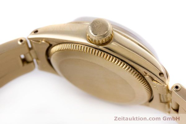 Used luxury watch Rolex Oyster Perpetual 18 ct gold automatic Kal. 2030 Ref. 6719 VINTAGE  | 153642 12