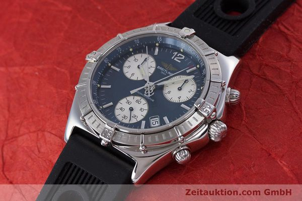 Used luxury watch Breitling Sirius chronograph steel quartz Kal. B53 ETA 251262 Ref. A53011  | 153647 01