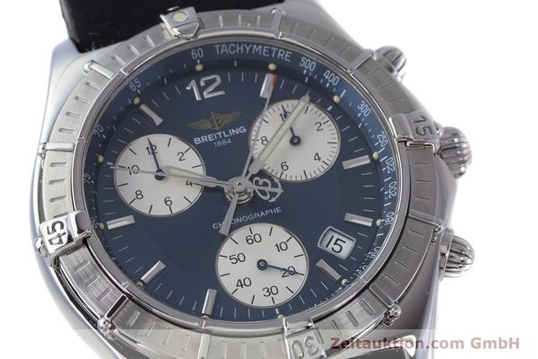Used luxury watch Breitling Sirius chronograph steel quartz Kal. B53 ETA 251262 Ref. A53011  | 153647 02