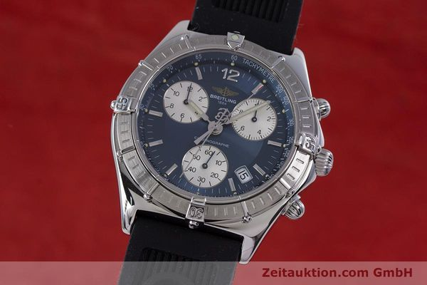 Used luxury watch Breitling Sirius chronograph steel quartz Kal. B53 ETA 251262 Ref. A53011  | 153647 04