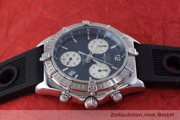 Used luxury watch Breitling Sirius chronograph steel quartz Kal. B53 ETA 251262 Ref. A53011  | 153647 05