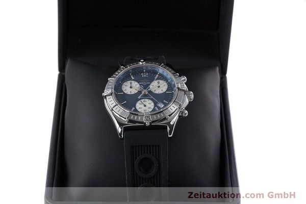Used luxury watch Breitling Sirius chronograph steel quartz Kal. B53 ETA 251262 Ref. A53011  | 153647 07