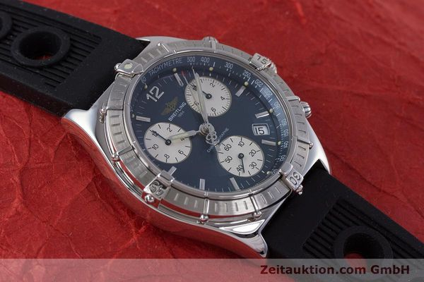 Used luxury watch Breitling Sirius chronograph steel quartz Kal. B53 ETA 251262 Ref. A53011  | 153647 12