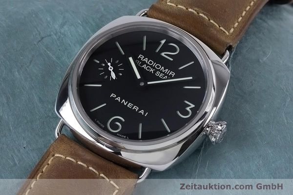 Used luxury watch Panerai Black Seal steel manual winding Kal. ETA B99501 Ref. OP6644, PAM00183  | 153653 01