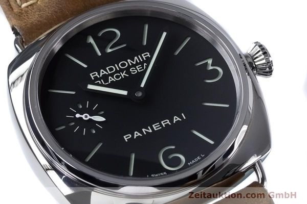 Used luxury watch Panerai Black Seal steel manual winding Kal. ETA B99501 Ref. OP6644, PAM00183  | 153653 02