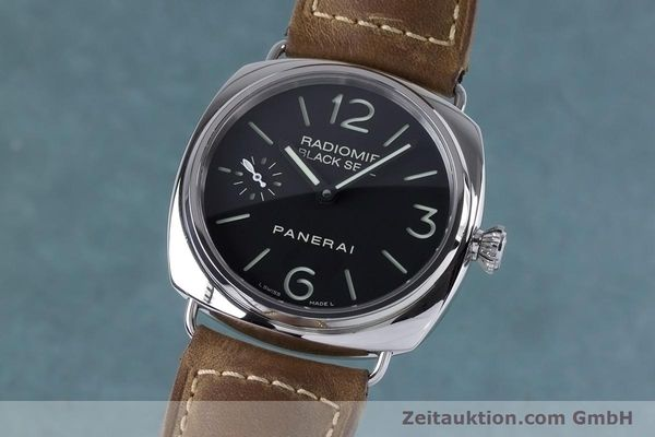 Used luxury watch Panerai Black Seal steel manual winding Kal. ETA B99501 Ref. OP6644, PAM00183  | 153653 04